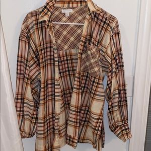 Top Shop Flannel